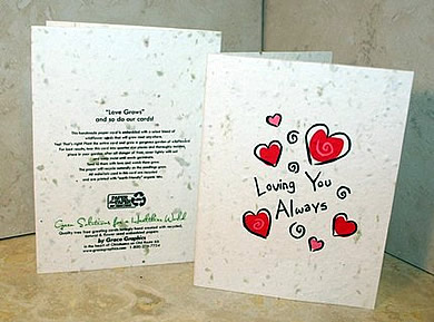Handmade Valentine Card Ideas on Blog Archive    Handmade Plantable Valentine   S Day Greeting Cards