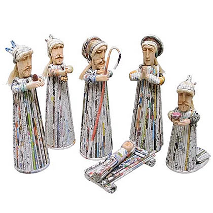 unique nativity sets from