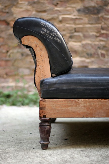 recycled chaise lounger